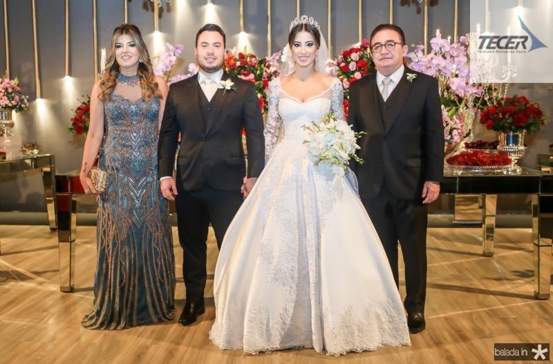 Paula Frota, Kevin Botelho, Manoella e Manoel Linhares