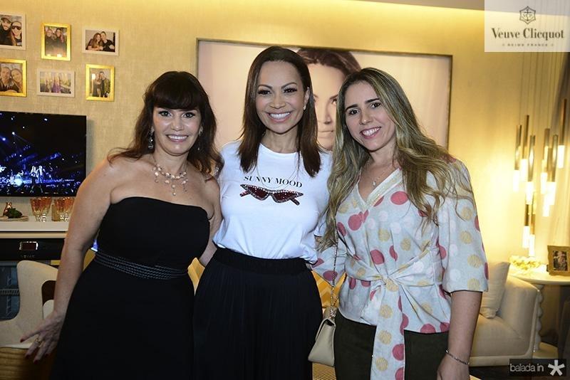 Maria Jose Lopes, Solange Almeida, Daiana Aguiar