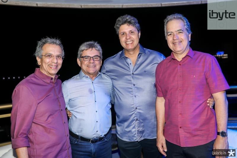 Eduardo Rolim, Julio Maia, Marcos Oliveira e Eduardo Fiuza