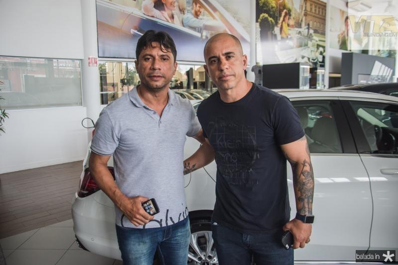Marcio Arruda e Rubens Vieira