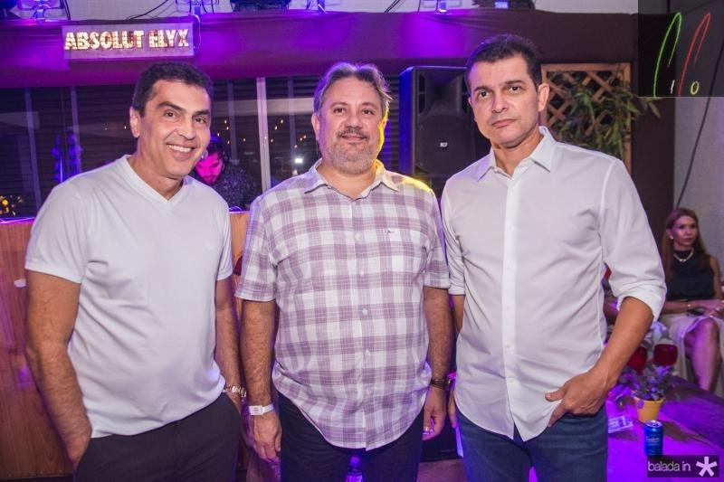 Idesio Rolim, Daniel Moura e Claudio Moreira