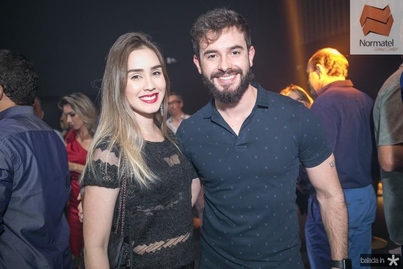 Mila e Gabriel Franco