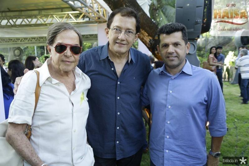 Lala Medeiros, Elpidio Nogueira e Erick Vasconcelos
