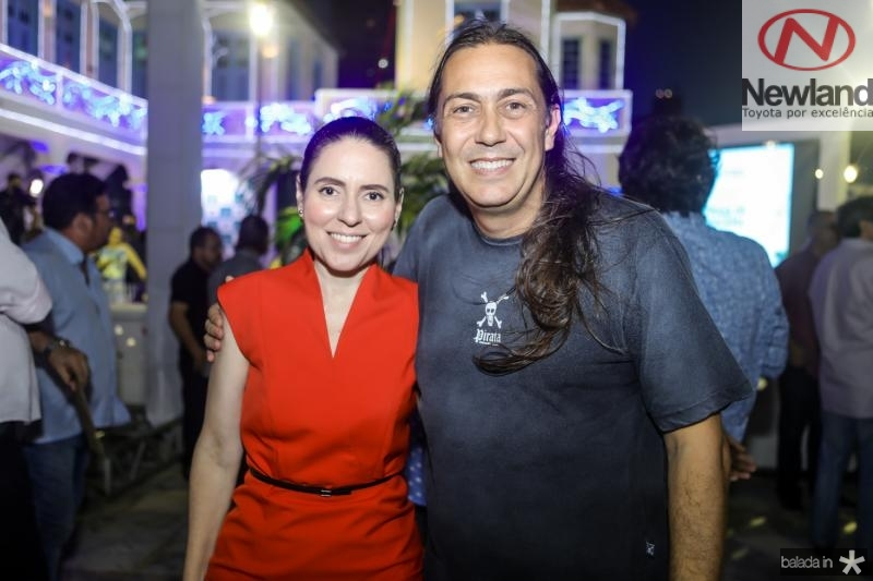 Agueda Muniz e Rodolphe Trindade