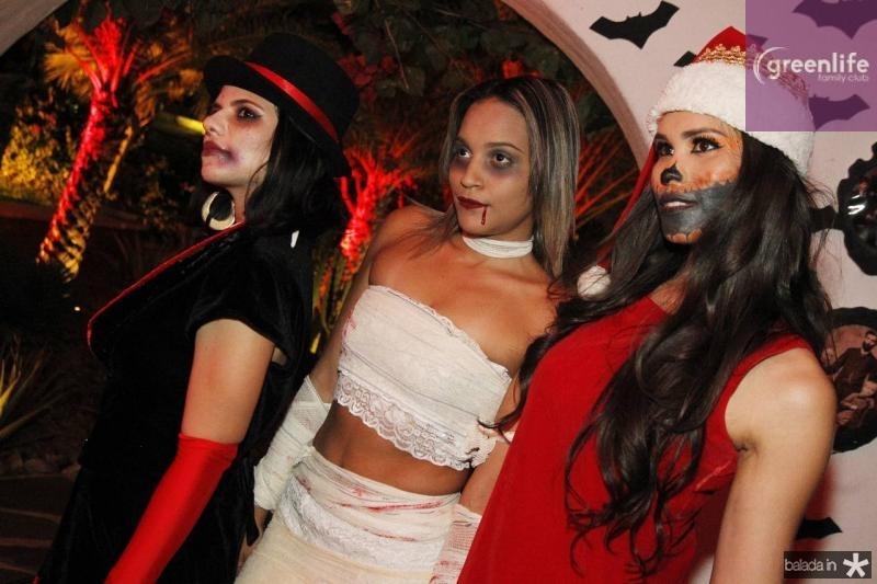 Janaila Menezes, Rebeca Fernandes e Jade Oliveira