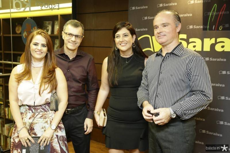 Socorro Flavia Borges, George Pimenta, Lana Trigueiro e Arthur Frota