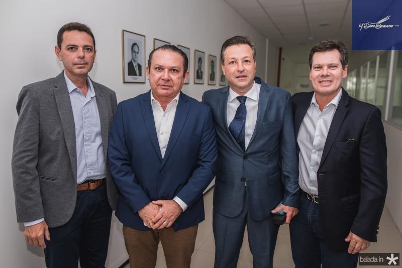 Constantino Dias, Max Bezerra, Fernando Alfredo Franco e Claudio Dias Branco
