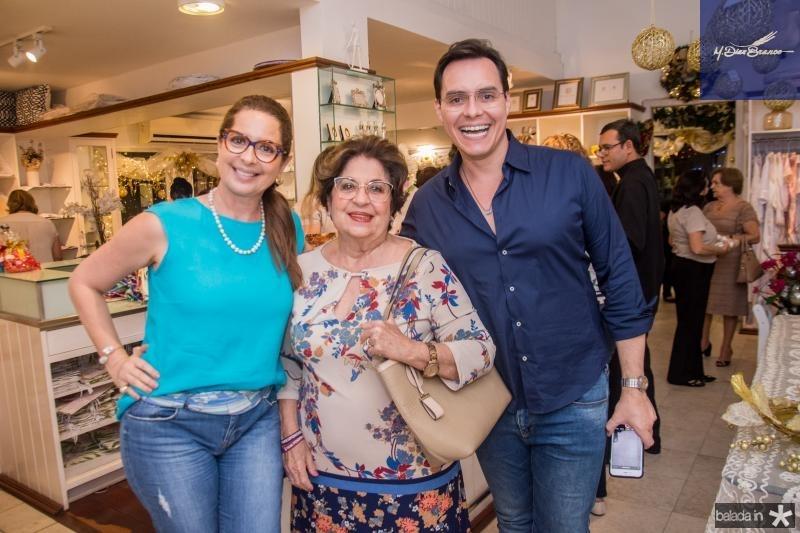 Marcia Andrea, Elsa Silva e Francisco Campelo