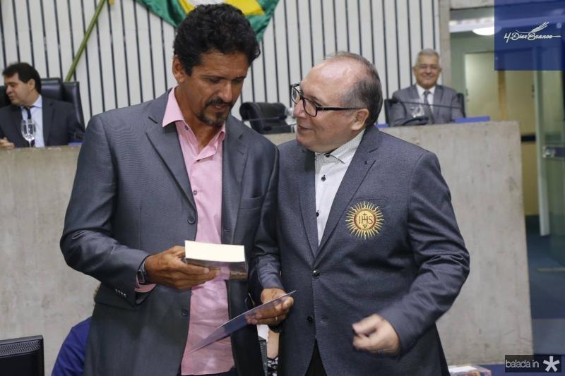 Roberto Lopes e Padre Eugenio