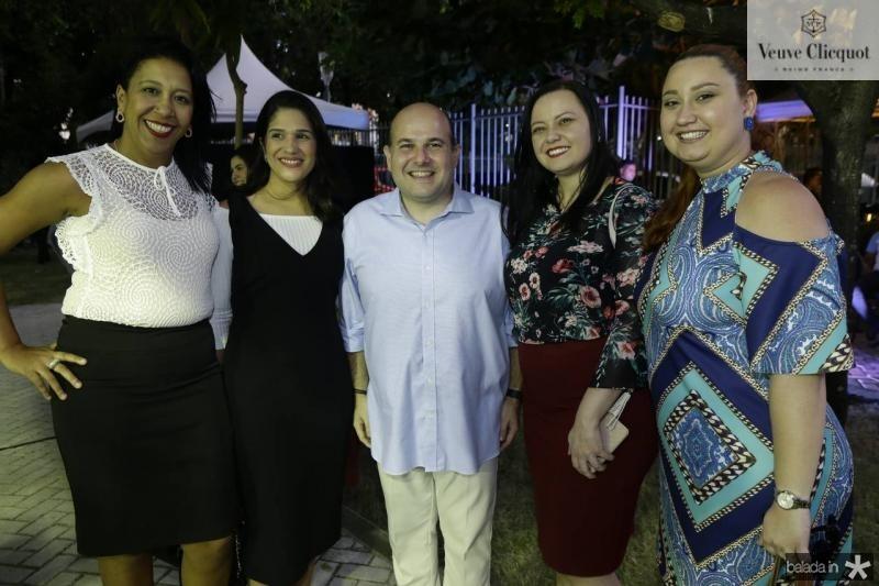 Kelly Chaib, Tatiana Diogo, Roberto Claudio, Jamile Guimaraes Jesile Vasconcelos