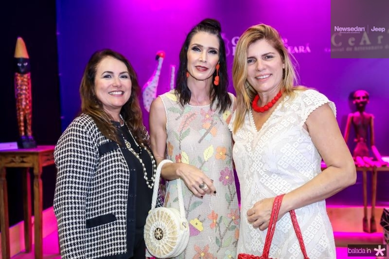 Luiza Costa Lima, Glaucia Maia e Denise Menezes