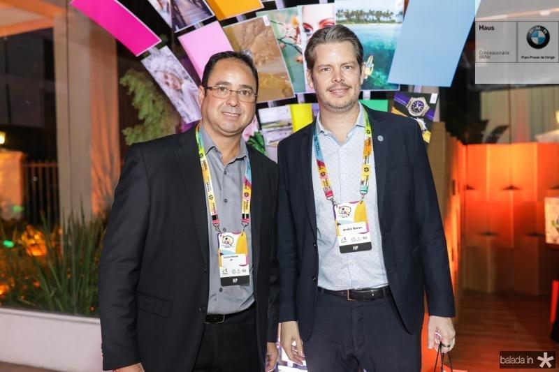 Luciano Morais e Andre Baron
