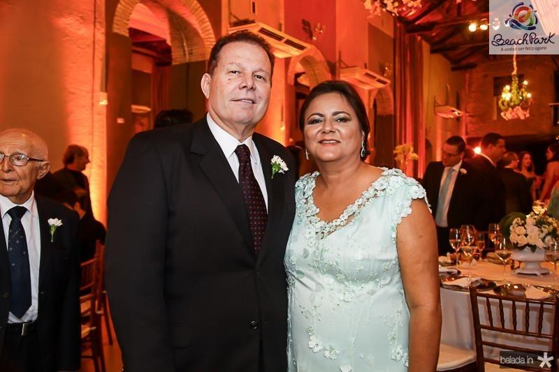 Julio Ventura e Marta Cunha