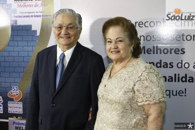 Francisco Lavanery e Maria de Lurdes Wanderley