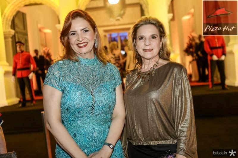 Enid Camara e Annya Ribeiro