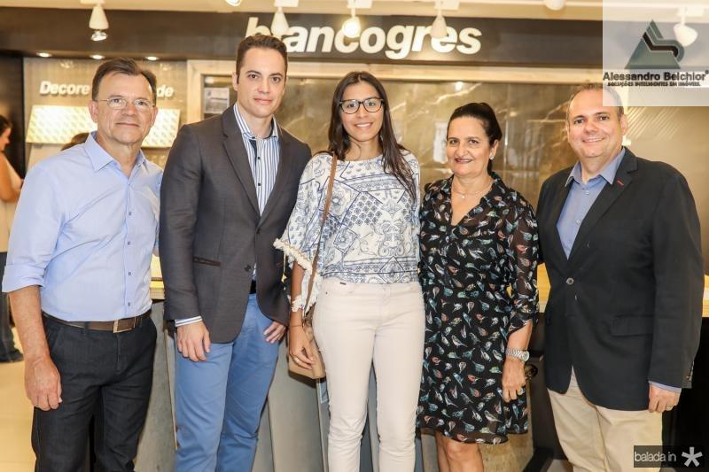 Celso Gomes, Tiago Borba, Dayanne Donato, Chaguinha Silveira e Wendel Regadas