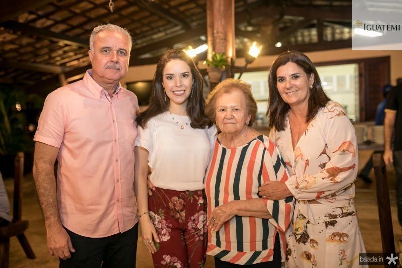 Guilherme Aguiar, Lucinha, Doninha e Marcia Feitosa