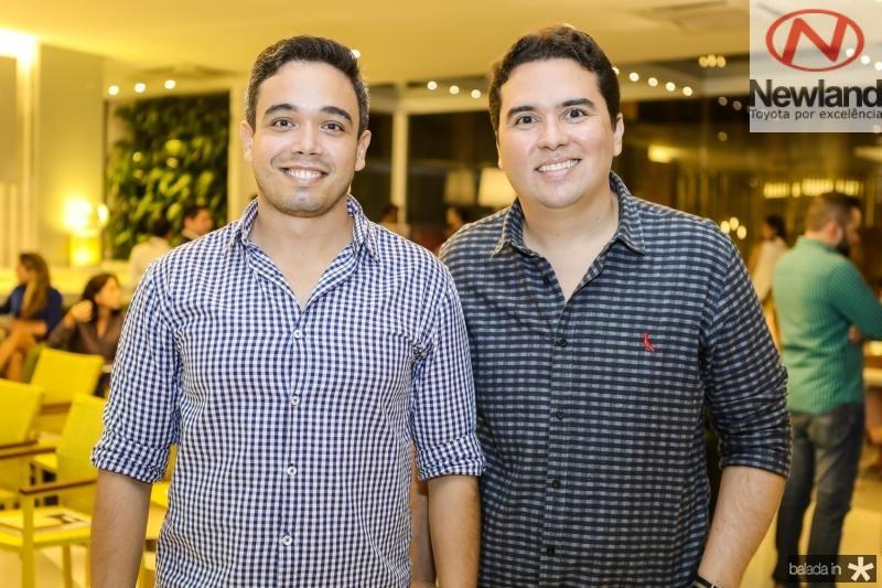 Marcelo Antero e Andre Pires