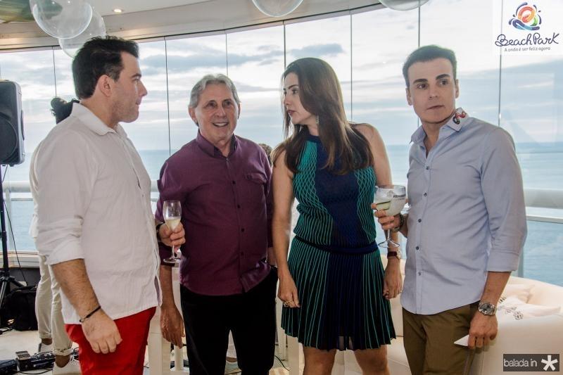 Danilo Dias, Vilmar Ferreira, Luiza Caminha e Rodrigo Maia