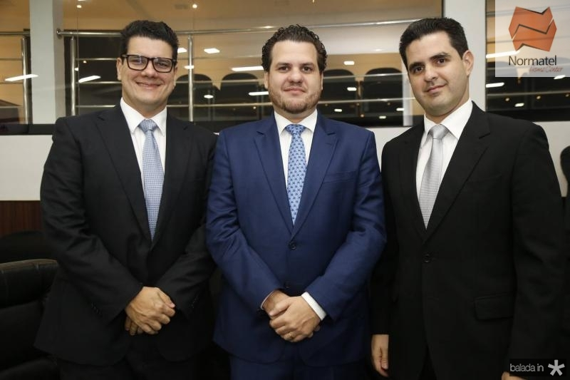 Robertro e Humberto Fontenele e Guilhermne Vieira
