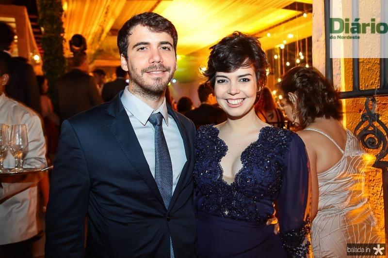 Samuel Amorim e Beatrice Melo