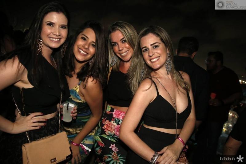 Liliana Veras, Cintia Chaves, Raquel Farias e Renata Holanda