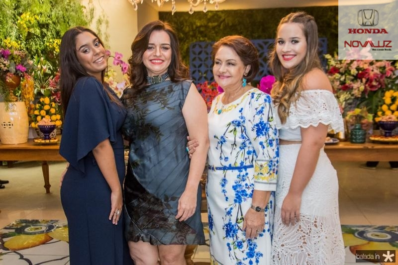 Ana Carolina, Lia, Barbara e Ana Paula Freire