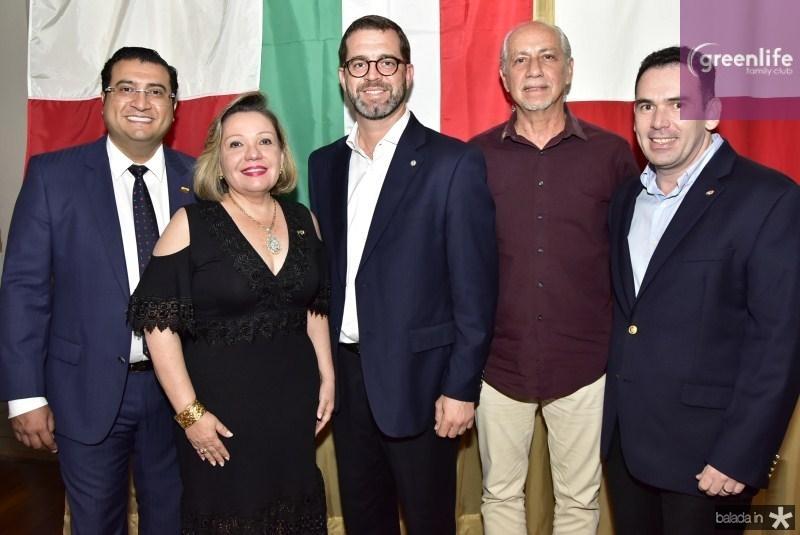 Sergio Baias, Fernanda Jensen, José Maria Zanocchi, Marcos de Castro e Janus Fuzesi
