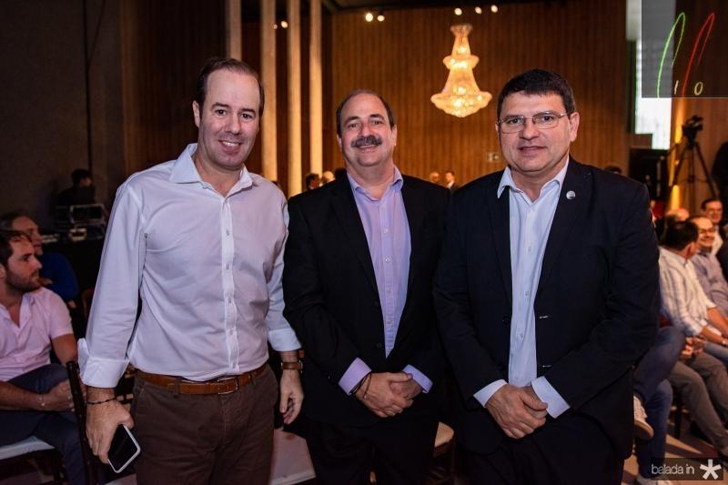 Cesar Ribeiro, Paulo Andre Holanda e Sergio Lopes