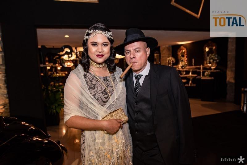 Monica Veras e Joao Furlani