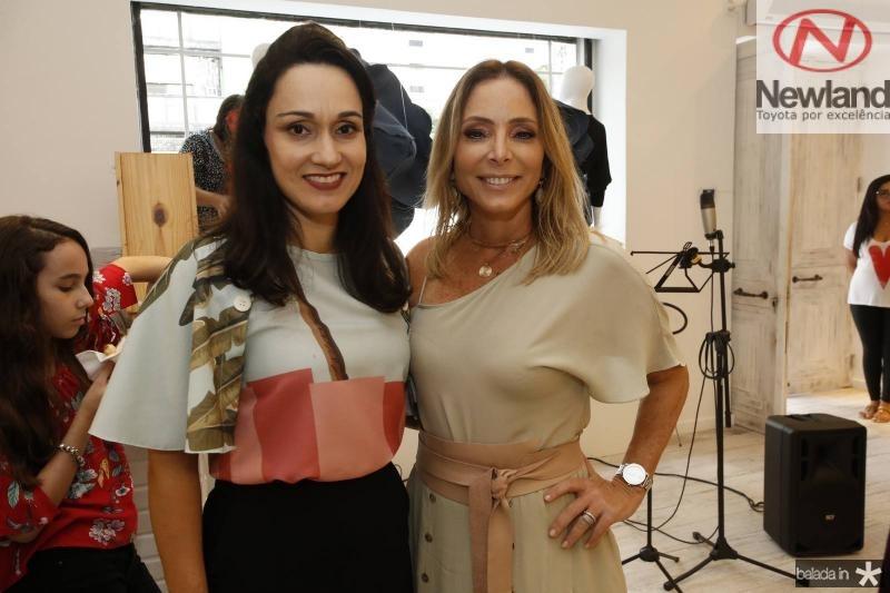 Carmen Pompeu e Ana Paula Daud