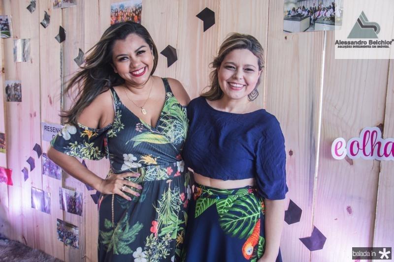 Janaina Azevedo e Talita Oliveira