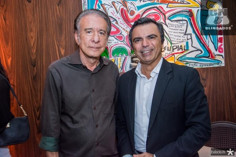 Everardo Telles e Juvencio Viana