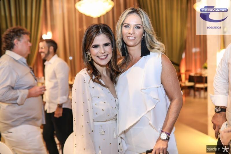 Niedja Bezerra e Carol Picanço