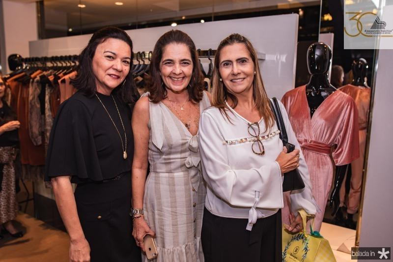 Guiomar Feitosa, Giana Studart e Debora Moreira