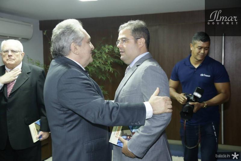 Luiz Pontes e Edson Queiroz Neto
