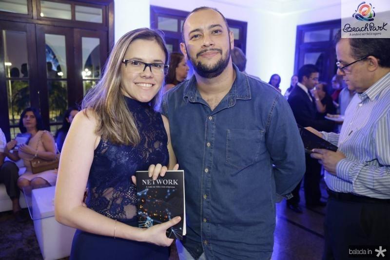 Fatima Pinheiro e Charles Ielbo