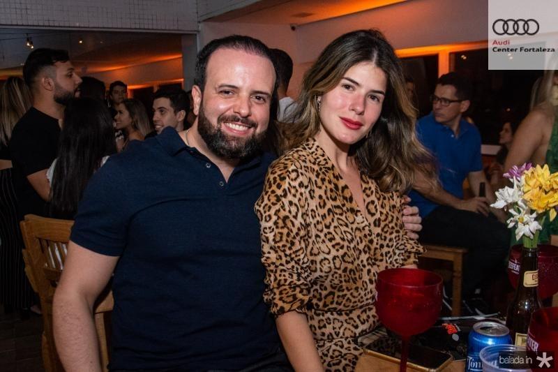 Victor Brasil e Tayna Albuquerque