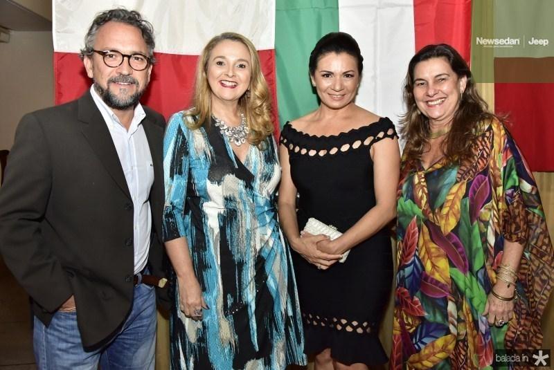 Luciano Arruda, Helena Demes, Monica Kahla e Ana Pinheiro