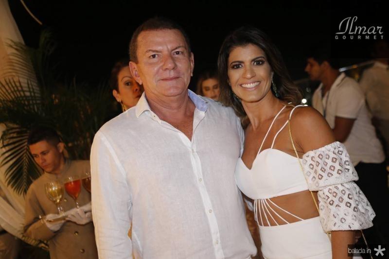 Alberto Caucaia e Valeria Gomes