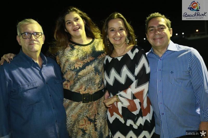 Paulo de Tarso, Ana Martins, Cristiana Soares e Keki Martins