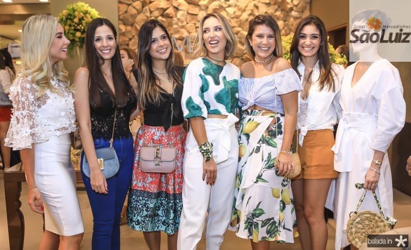 Pariscila Silva, Rafaela Maia, Germana Frota, Rafela Furlanetto, Raquel Xavier, Renata Zeidan e Paula Sampaio