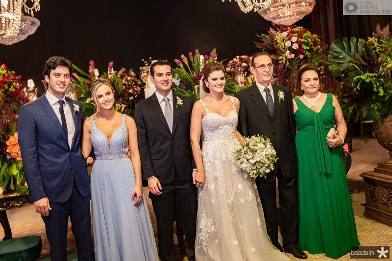 Paulo Adao, Marina Moura,  Jose Carlos e Isabele Studart, Aristofanes Canamary e Vania Canamary