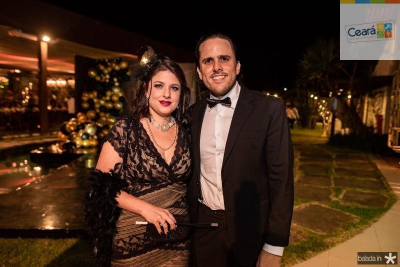 Vivian Vieira e Vitor Landim