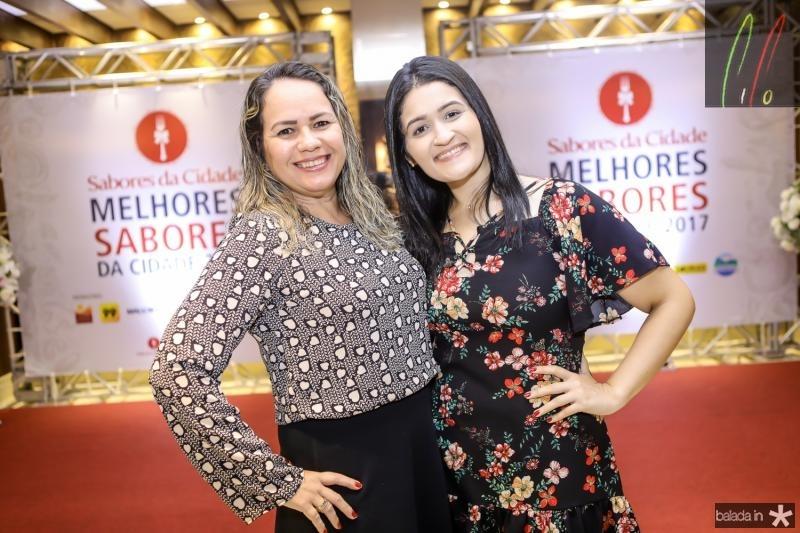 Andrea Rodrigues e Gabriela Cunha