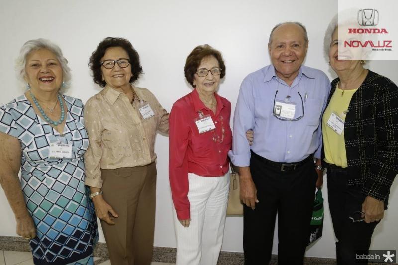 Vania Barreto, Helena Pitombeira, Zilmar Fontenele, Ormando Campos e Lucia Alcantara