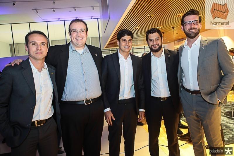 Luciano Ferreira, Joao Oliveira, Gercino Coelho Filho, Marcelo Godoi e Junior Cotri