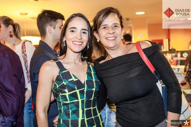 Flavia Campos e Roseane Holanda