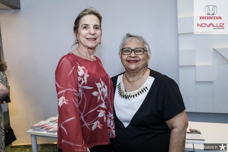 Anya Ribeiro e Gloria Ribeiro