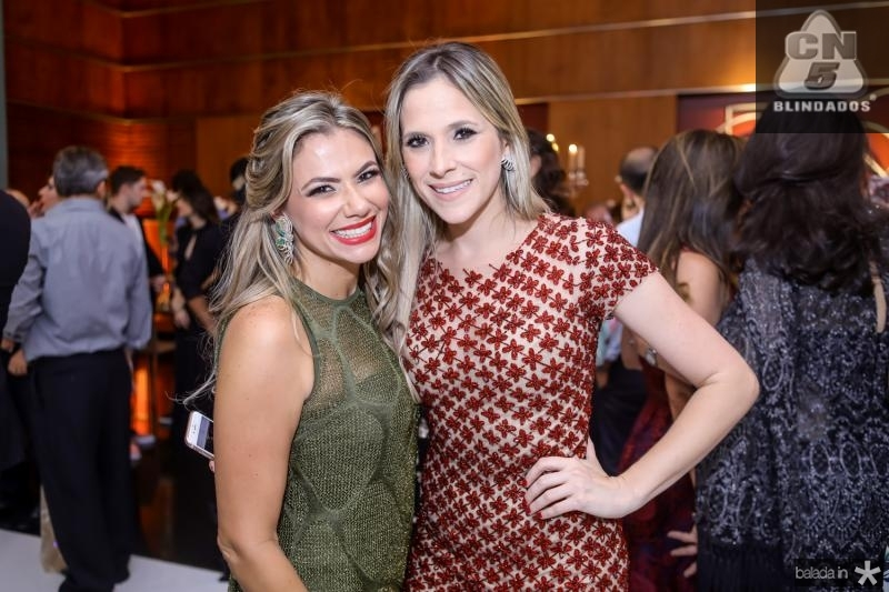 Vanessa Queiros e Marta Bezerra